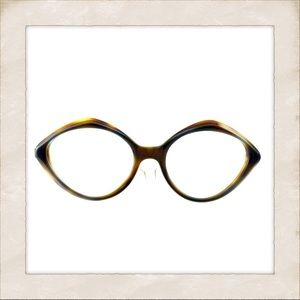 Cool & Artsy Vintage Eyeglasses, France